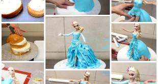 איך עושים עוגה של אלזה מלשבור את הקרח