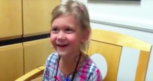 The Heartwarming Moment A Deaf Girl Hears Her Voice Properly For The First Time